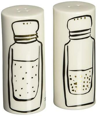 Kate Spade New York By Lenox Daisy Place Salt & Pepper Shakers New
