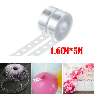 Balloon Decorating String Arch Garland Connect Chain Strip DIY Tape Party Decor