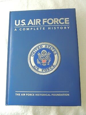 U.S. AIR FORCE A Complete History - The Air Force Historical Foundation - Patch