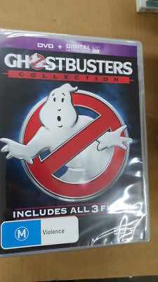 GHOSTBUSTERS 3 movie collection dvd+digital NEW/SEALED R4