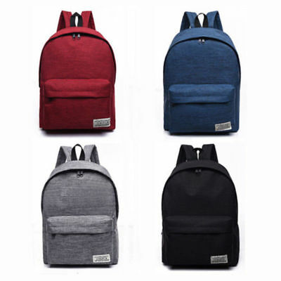 Canvas Portable Large BackPack Student Big School Bag For Teenagers Girls Boys