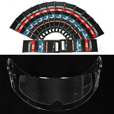 For Motorcycle Helmet Universal Clear Anti-fog Lens Film Transparent Patch
