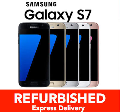 100% GENUINE Samsung Galaxy S7 32GB SMG930 Unlocked Smartphone FROM MEL