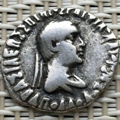 155-130 BC Ancient Silver Coin,Saviour Menander I Soter,1 Drachm,Indo-Greek.#2