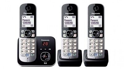 Panasonic Dect 6 Digital Cordless Triple Handset Answering System  Kx-Tg6823