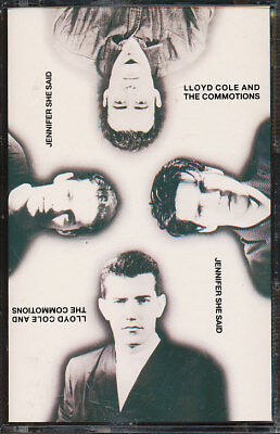 Lloyd Cole And The Commotions - Jennifer She Said (Cassette Tape) **BRAND NEW**