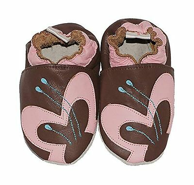 BabySteps Avant Garde Baby Shoes, X-Small, Brown