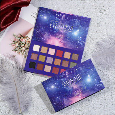 18 Colors Eyeshadow Palette Beauty Makeup Shimmer Matte Gift Eye Shadow Cosmetic