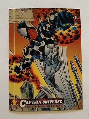 1994 Fleer Spider-Man Marvel Card #20 Captain Universe