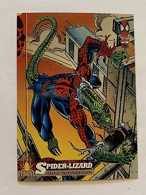 1994 Fleer Spider-Man Marvel Card #21 Spider-Lizard