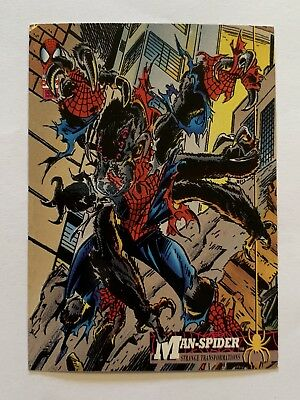 1994 Fleer Spider-Man Marvel Card #22 Man-Spider
