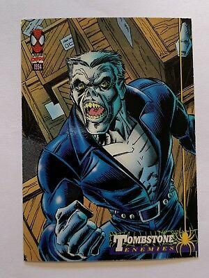 1994 Fleer Spider-Man Marvel Card #36 Tombstone