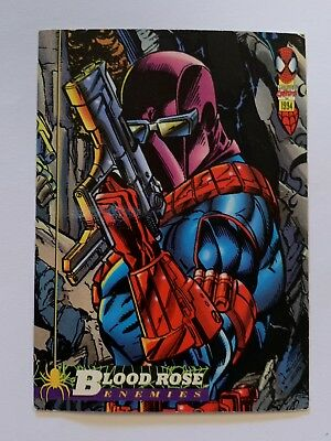 1994 Fleer Spider-Man Marvel Card #44 Bloodrose