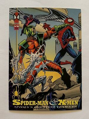 1994 Fleer Spider-Man Marvel Card #88 X-Men