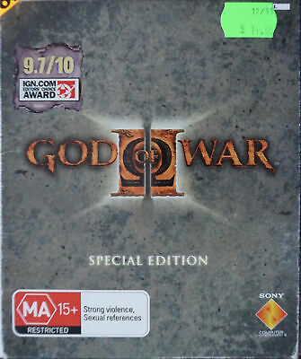 Playstation 2 PS2 God of War II Special Edition - making of DVD disc missing