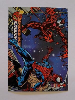 1994 Fleer Spider-Man Marvel Card #98 Carnage
