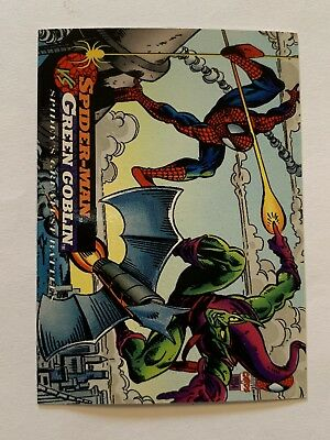 1994 Fleer Spider-Man Marvel Card #100 Green Goblin