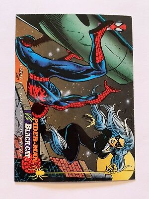 1994 Fleer Spider-Man Marvel Card #115 Black Cat