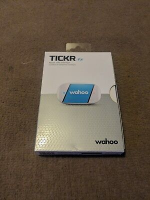 Wahoo Tickr Run Heart Rate Monitor iPhone Android. Bluetooth