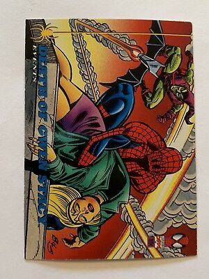 1994 Fleer Spider-Man Marvel Card #141 The Death Of Gwen Stacy
