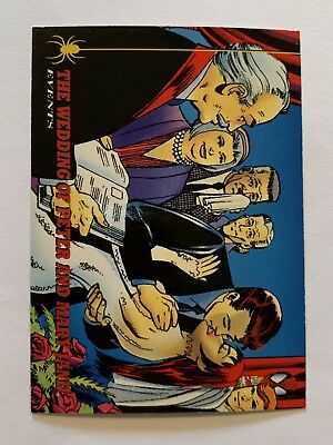 1994 Fleer Spider-Man Marvel Card #142 The Wedding Of Peter And Mary Jane