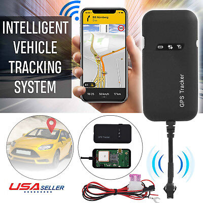 Realtime auto Tracker Localizzatore GPRS GSM GPS Tracking veicolo/camion/Van