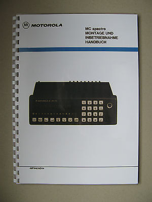 Motorola MC spectro Service Manual - Storno CQM6000 Publication No: 68P84836D04