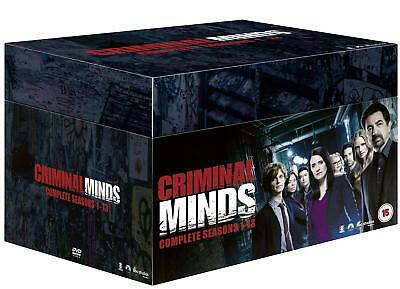 Criminal Minds Complete Season 1-13 Collection Dvd Box Set 72 Disc R4 New&sealed