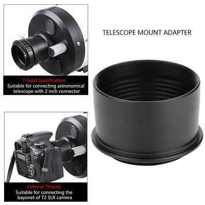 """Alloy 2"""" Extension Tube Telescope Mount Camera Adapter T2 T-Ring For Camera OY"""