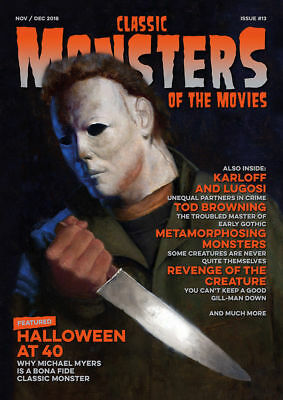 CLASSIC MONSTERS - MICHAEL MYERS - magazine + FREE PHOTOS