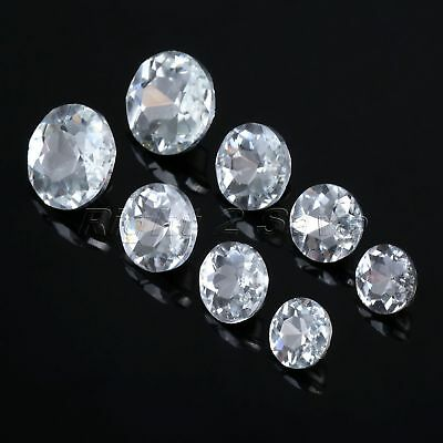 10Pcs Diamond Bright Pattern Crystal Upholstery Buttons Sewing 4 Size Sofa Decor