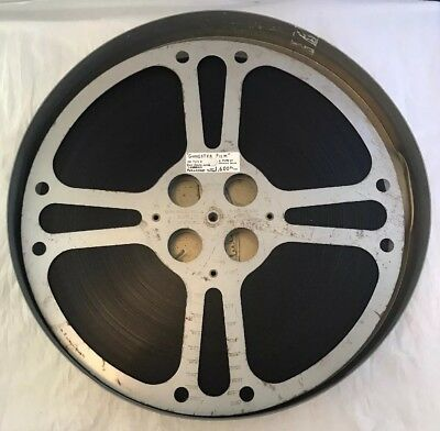 Rare Vintage Paramount Films Gangster Film - 16mm Cine Movie, 1600ft Metal Reel