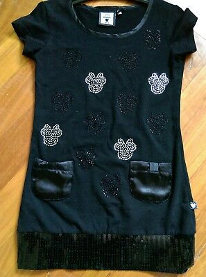 Girls Minne Mouse Dress Size 8 Grest For Summer Or Winter Clothing