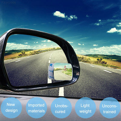 AF91 Car Rearview Mirror Auxiliary Mirrors Square Adjustable Blind External