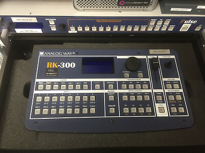 Analog Way Pulse PLS300 Seamless Switcher / Scaler with Stage Rack