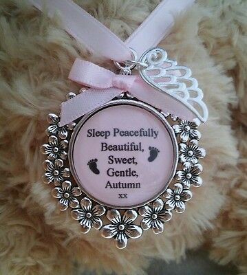 Angel Baby Infant Loss Miscarriage Personalised memory keepsake memorial gift