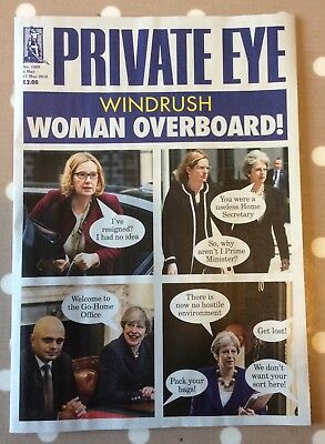 PRIVATE EYE MAGAZINE Issue No. 1469 4th May to 17th May VGC 2018