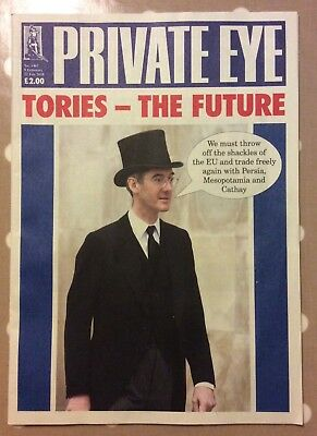 PRIVATE EYE MAGAZINE Issue No. 1463 Tories - The Future 9th Feb to 22nd Feb