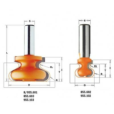 Cutters CMT for handles Codcode 855/955