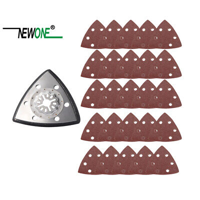 Newone triangular sanding pad oscillating multitool saw blades fit for starlock