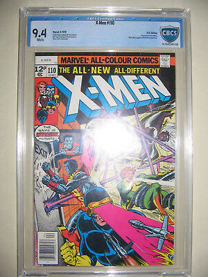 X-Men  110  9.4 CBCS graded. High grade PENCE collection.