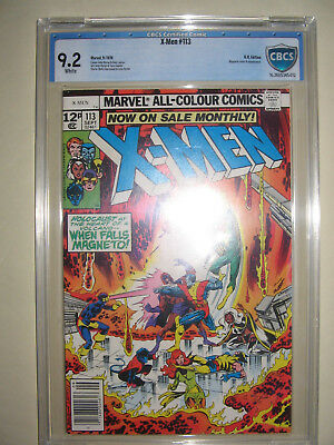 X-Men  113  9.2 CBCS graded. High grade PENCE collection.