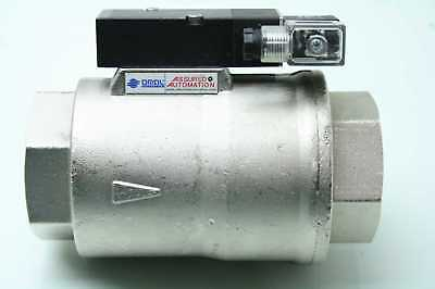 """New Omal 200VAOVVE3F Fast Acting Stainless Solenoid Valve 2"""" NPT"""