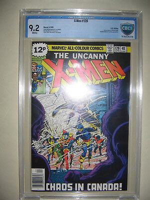 X-Men  120  9.2 CBCS graded. High grade PENCE collection.