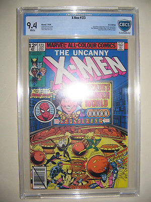 X-Men  123  9.4 CBCS graded. High grade PENCE collection.