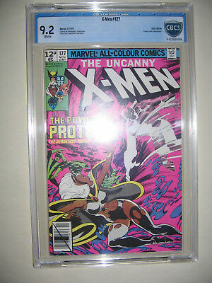 X-Men  127  9.2 CBCS graded. High grade PENCE collection.