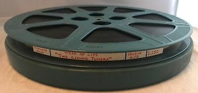 "Rare Vintage 16mm Cine Film Movie, ""The Living Tundra"", Wildlife? 1200ft Reel"