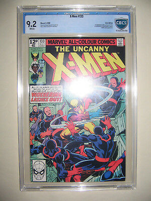 X-Men  133  9.2 CBCS graded. High grade PENCE collection.