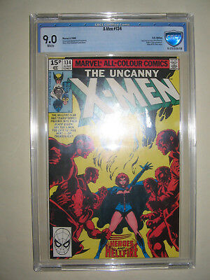 X-Men  134  9.0 CBCS graded. High grade PENCE collection.