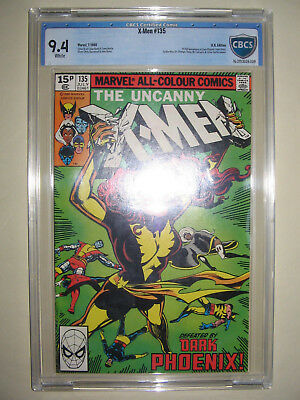 X-Men  135  9.4 CBCS graded. High grade PENCE collection.